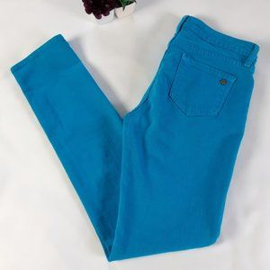 Turquoise Broome Street Jeans